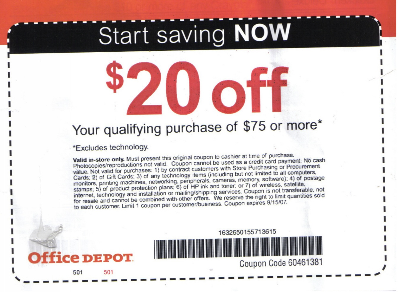 Office Depot and OfficeMax sell office supplies, office furniture and business solutions from printing to security. Office Depot and OfficeMax utilize a lot of different sales and coupon codes everyday.