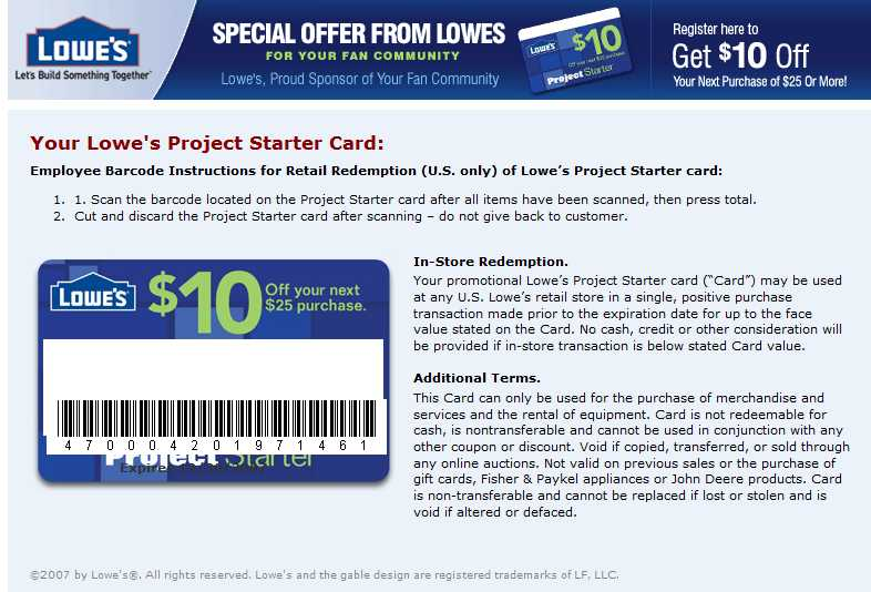 Lowe's $10 Off 25 Coupon, 10% Off, and $100 Gift Card ...