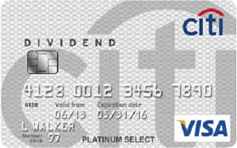 Citi Dividend $100 Bonus