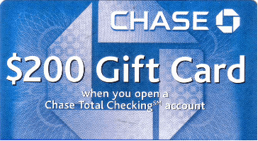 Chase Coupon Code, Chase Bonus Deal, $200 Coupon Promotion