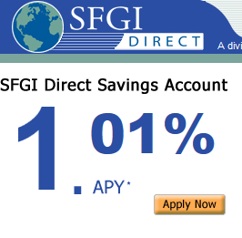 SFGI Online Savings
