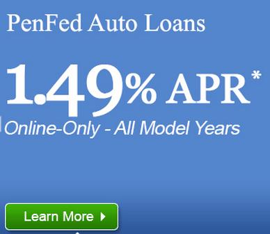 New Car Rates Penfed