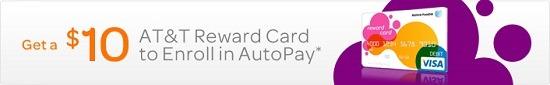 ATT $10 AutoPay