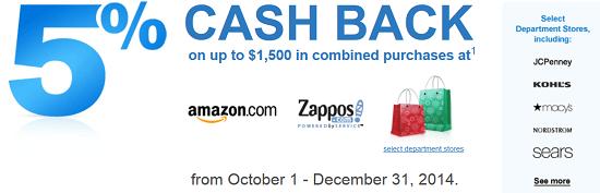 Chase Freedom Cash Back