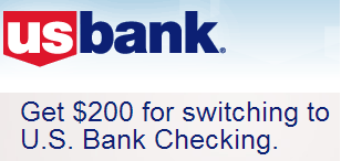 US Bank Checking $200