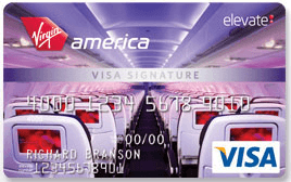 Virgin America 15000 Points