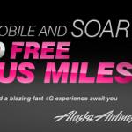 T-Mobile 15,000 Alaska Airlines Bonus Miles Promotion