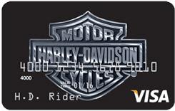 US Bank Harley Davidson Visa