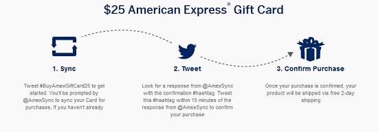 Amex Twitter Sync