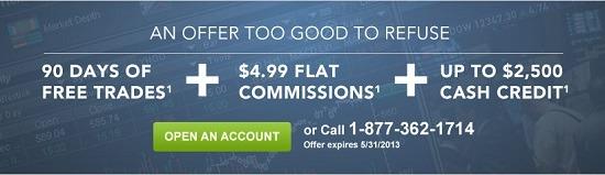 ETrade Brokerage $2500 Bonus