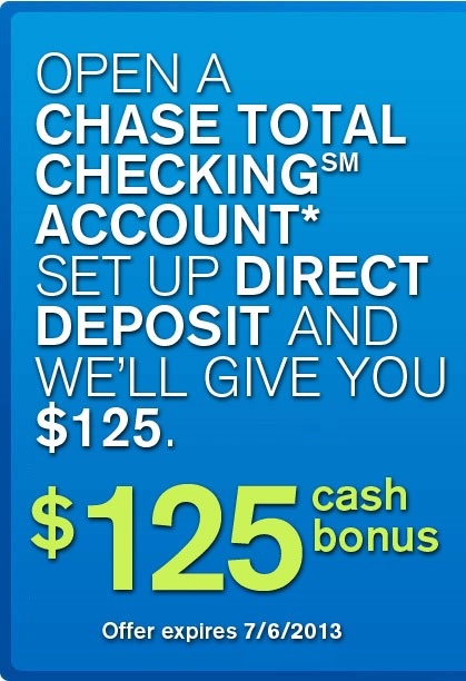 Chase Coupon Promotion Code