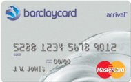 Barclays Arrival MasterCard No annual fee