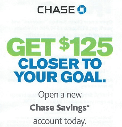 Chase Savings $125
