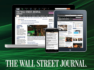 Do you read The Wall Street Journal? At 80% off cover price? Whether looking for a new or renewal subscription - you can save money - Print, Digital, Online.
