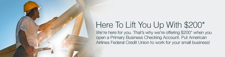AA Business Checking $200