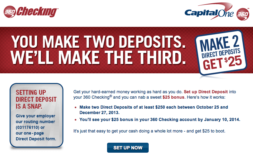 capital one 360 money market referral