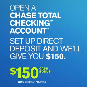 Chase Coupon 2014