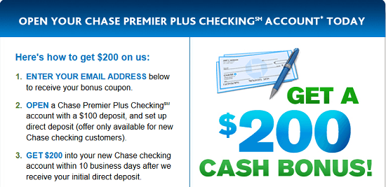 Chase $200 Premier Coupon