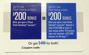 Chase Savings Total Checking