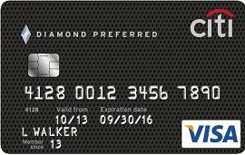 Citi Diamond Preferred Visa Card