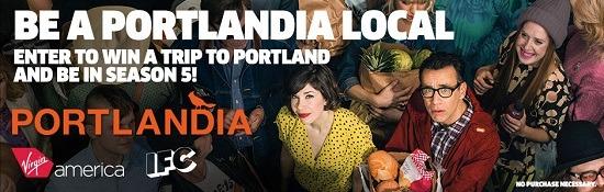 Virgin America Portlandia