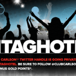 Club Carlson 1,000 Free Gold Points Twitter Promotion