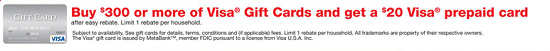 Staples Visa Gift Card