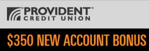 Provident CU $350