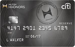 Citi Hilton HHonor Reserve New