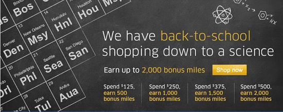 United Mileage Shopping