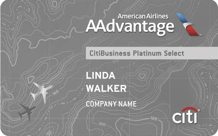 Citi AAdvantage CitiBusiness Platinum Select