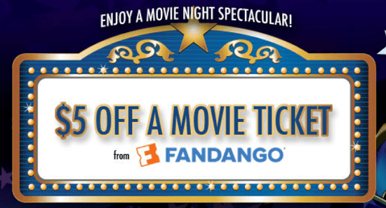 Coupon code for movie tickets