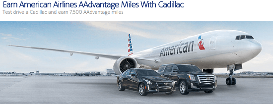 Cadillac Test Drive 7500 AA points