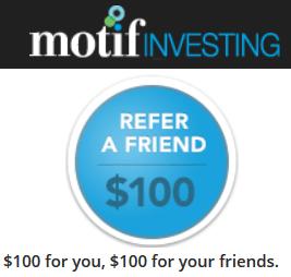 Motif $100 Referral
