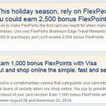 U.S Bank FlexPerks 3,500 Bonus Points Promotion