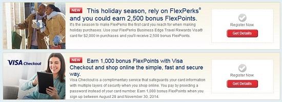 Visa Check Out Bonus