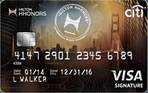 Citi Hilton HHonors Visa