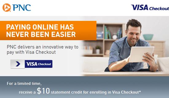 PNC Visa Checkout