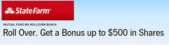 State Farm $500 IRA Bonus