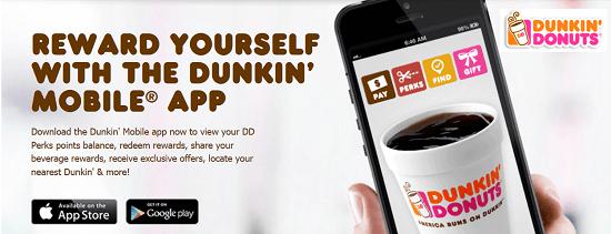 Dunkin Donuts App
