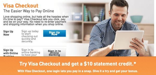 PNC Visa Checkout $10 Bonus