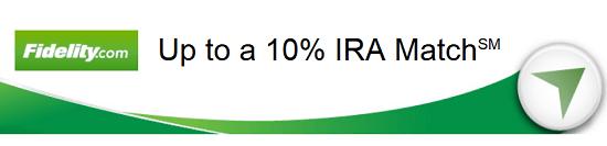 Fidelity 10 Percent IRA Match