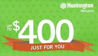 Huntington $400 Bonus