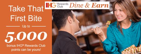 IHG Rewards Club Dine