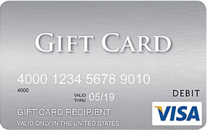Purchase $1,000 Visa Gift Cards Online w/ Free Ground Shipping