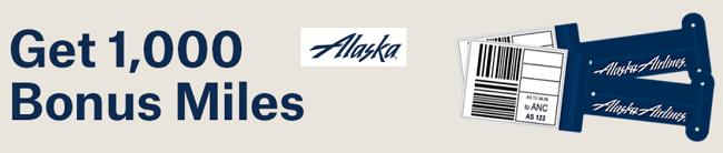 Alaska Airlines Bonus Miles