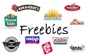 Eat Free On Your Birthday Freebies January 2019