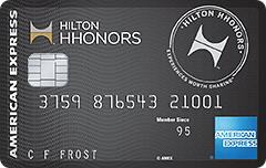 hilton hhonors surpass card american express
