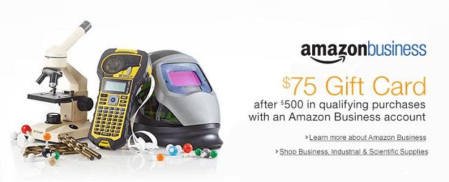 Amazon Business $75 Gift Card