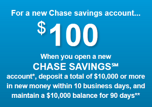 Chase Savings Bonus